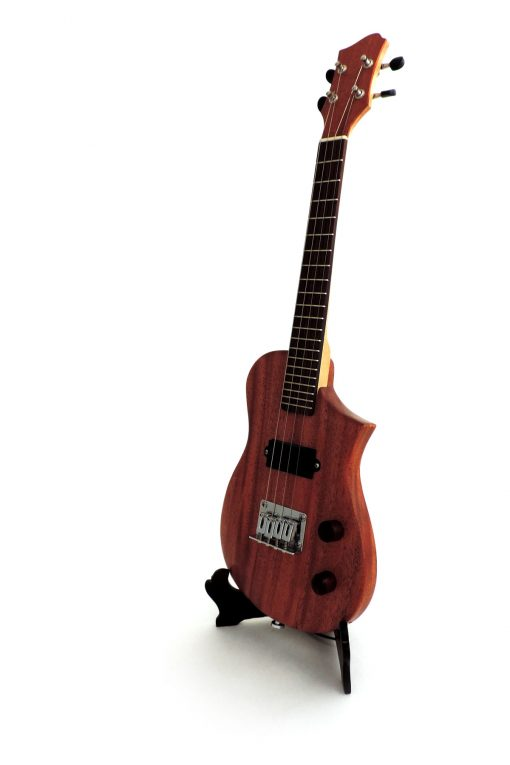 Riverbend Instruments Concert Mahogany Electric Ukuleleby in the Pacific Northwest
