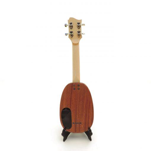 Pineapple soprano ukulele back view