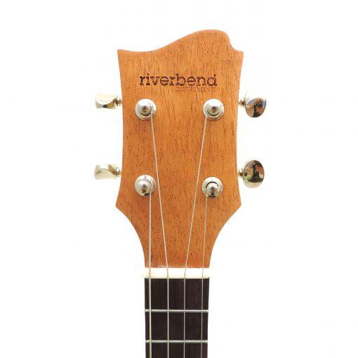 Pineapple ukulele headstock