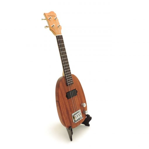 Pineapple ukulele right side view