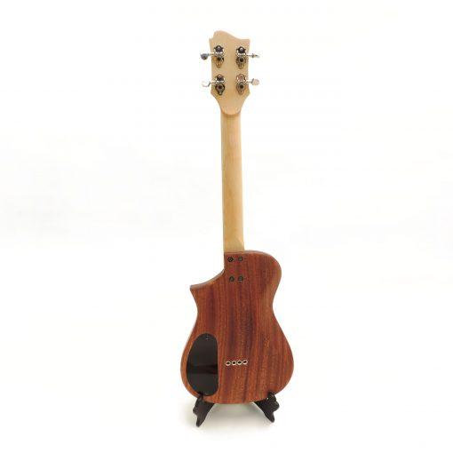 tenor electric ukulele back view