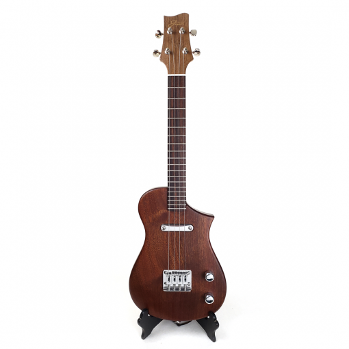Front view of cfl15 mahogany concert scale ukulele