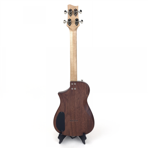 Black Walnut Tenor Ukulele Back