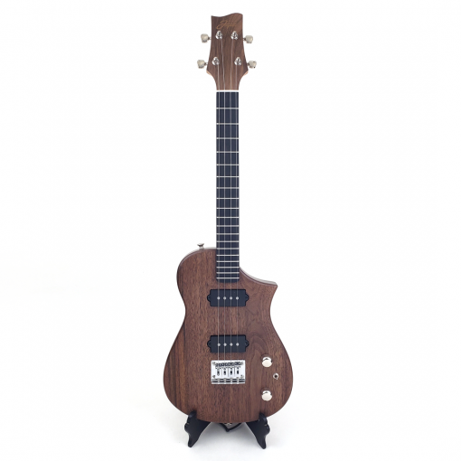 Black Walnut Tenor Ukulele Front