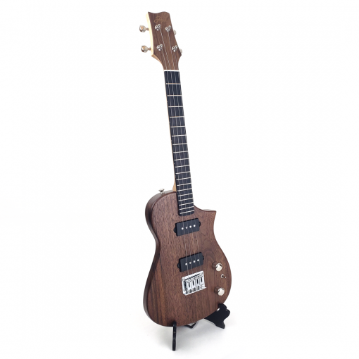 Black Walnut Tenor Ukulele Right